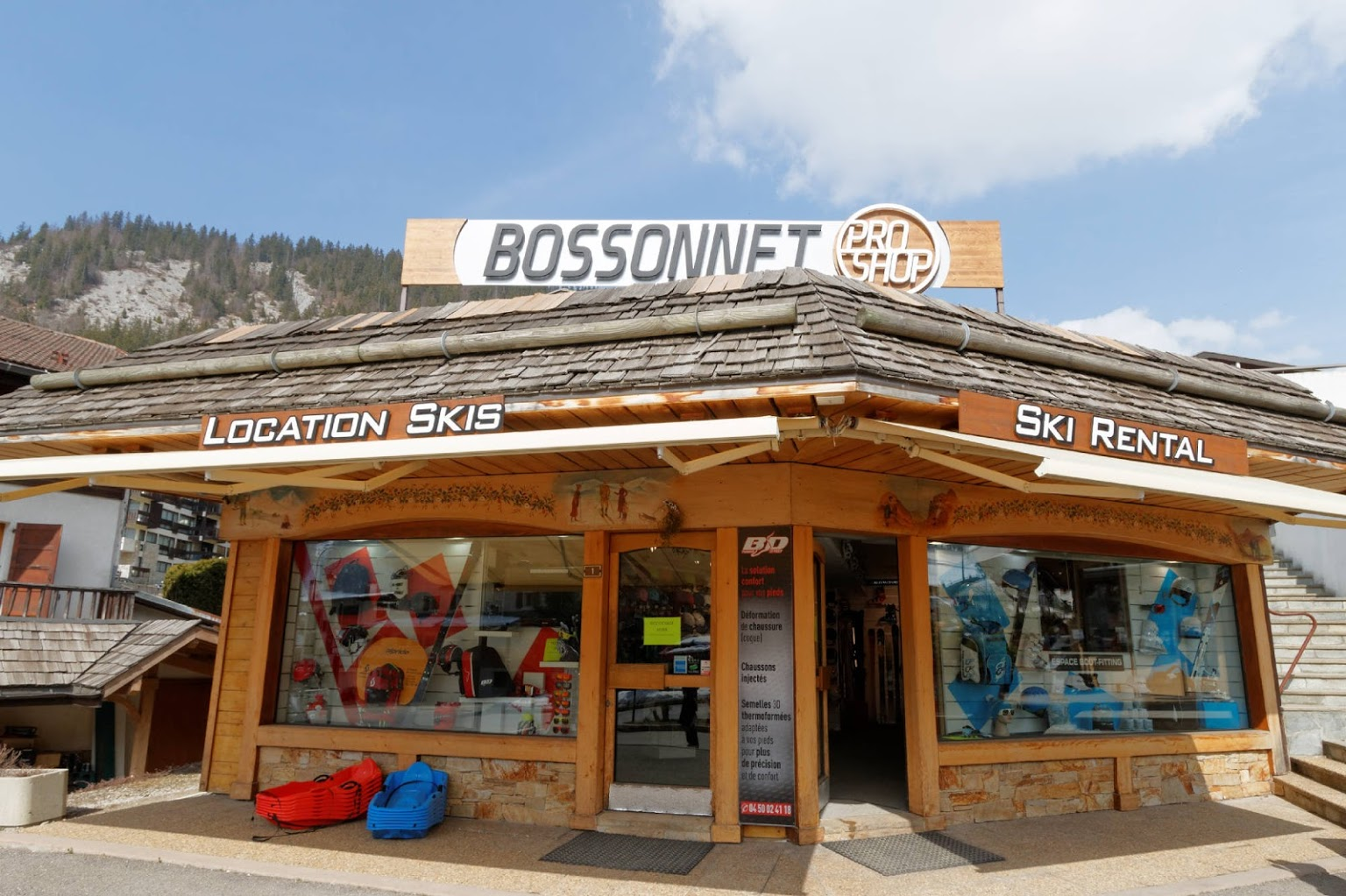 Bossonnet Pro Shop - magasin de ski