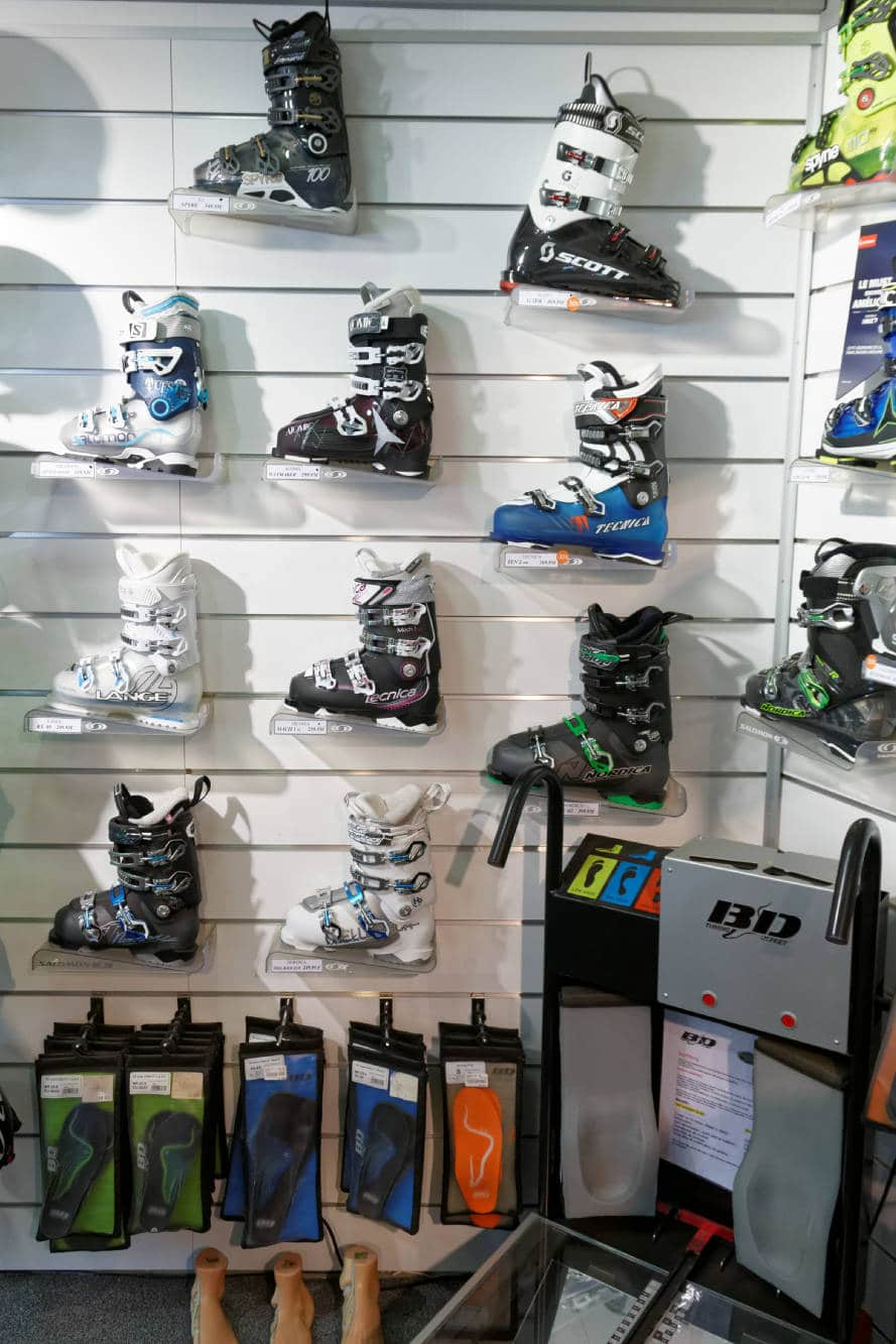 chaussures skis - Bossonnet pro shop