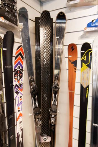 ski - gardiennage - Bossonnet pro shop