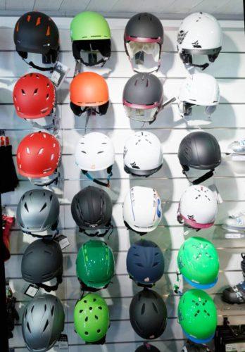 casque de ski - magasin - Bossonnet pro shop